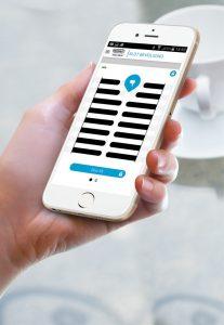 Nemef ENTR Smartphone app