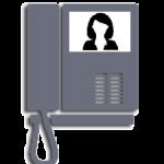 Video intercom icon