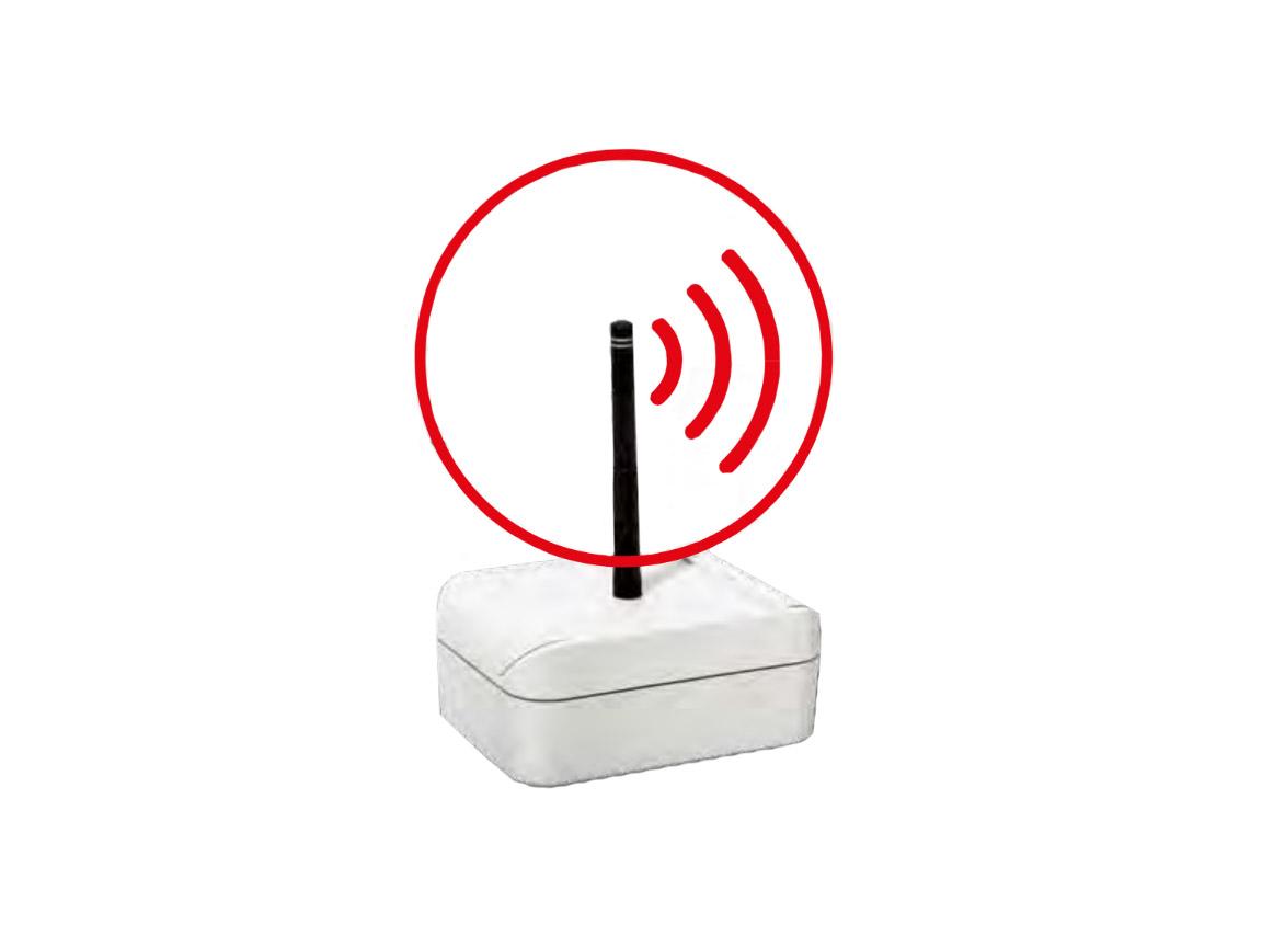 Ixalo RFID funkwandmodule